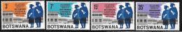 Botswana, Scott # 33-6 MNH University Graduates, 1967 - Botswana (1966-...)