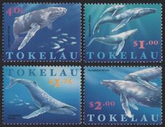 TOKELAU 1997 - Faune Marine, Baleine A Bosse - 4 Val Neuf // Mnh - Tokelau