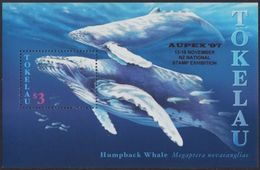 TOKELAU 1997 - Faune Marine, Baleine A Bosse, Surchargé AUPEX'97 - BF Neuf // Mnh - Tokelau