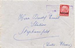Deutschland, 1940-10-25 Brief (Ort Nicht Lesbar) Lothringen  Nach Stephansfeld, Siehe Scans! - Germany