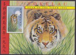 TOKELAU 1998 - Nouvel An Chinois, Année Du Tigre - BF Neuf // Mnh - Tokelau