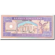 Somaliland, 10 Shillings = 10 Shilin, 1996, 1996-05-18, KM:15, NEUF - Somalie