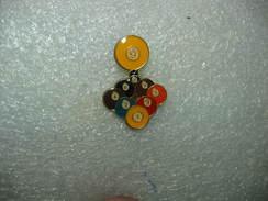 Pin's Boules De Billard - Billiards