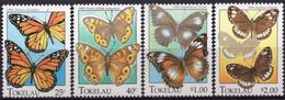 TOKELAU 1995 - Faune, Insectes, Papillons - 4 Val Neuf // Mnh - Tokelau