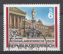 Autriche 1989  Mi.Nr: 1964 Interparlamentarische Union IPU  Oblitèré / Used / Gebruikt - 1945-.... 2ème République