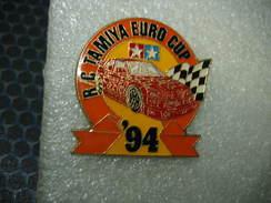 Pin's De La Coupe D'Europe De Voitures Radio Commandées TAMYA En 94 - Unclassified