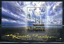 "Pitcairn Islands     ""Bounty-Ship""     Souvenir Sheet    SC# 741a    MNH - Timbres"