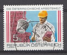 Autriche 1989  Mi.Nr: 1973 Die Österreichische Arbeitswelt  Oblitèré / Used / Gebruikt - 1945-.... 2de Republiek