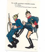 "MILITARIA (14/18) TRES BELLE SATIRIQUE ANTI-ALLEMANDE "" (A LIRE) SUPERBE - Weltkrieg 1914-18"