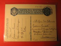 CART.POSTALE PER LE FORZE ARMATE  -   ERITREA PM 12   D  -  2083 - War 1939-45