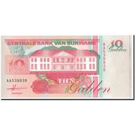 Surinam, 10 Gulden, 1991, 1991-07-09, KM:137a, NEUF - Surinam