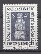 Autriche 1990  Mi.Nr: 1988 850.Jahre Stift Seckau  Oblitèré / Used / Gebruikt - 1945-.... 2ème République