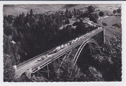 Charmey , Troupeau Sur Le Pont Du Javroz - FR Fribourg
