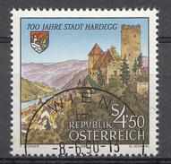 Autriche 1990  Mi.Nr: 1995 700.Jahre Stadt Hardegg  Oblitèré / Used / Gebruikt - 1945-.... 2de Republiek
