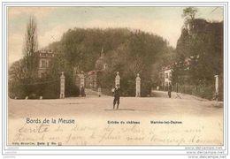 MARCHE - LES - DAMES ..-- Nels , 9 , N° 11 . 1902 Vers SAINT - SERVAIS ( Mr Fernand CASTIN ) . Voir Verso . - Namur