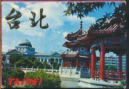 °°° CARNET 6 POSTCARDS - TAIWAN - TAIPEI °°° - Taiwan