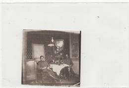 Photo Orig.Allemande -Militaires Allemand Repos Chambrée -BIACHE- ATHIS(guerre14-18) - War 1914-18