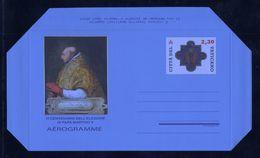 2017 - VATICANO - S26L4 - SET OF 1 AEROGRAMME ** - Vatican