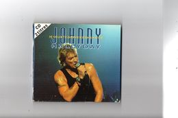 """JOHNNY HALLYDAY    1993   """" JE VEUX TE GRAVER DANS MA VIE """"   CD 2 TITRES  LIVE """" BERCY 92 """" - Collector's Editions"""