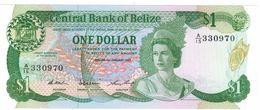 Belize 1 Dollar , 1987, UNC. - Belice