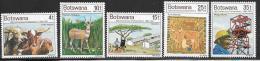 Botswana, Scott # 169-73 MNH Independence Anniv., 1976 - Botswana (1966-...)