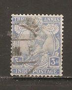 India Inglesa - Nº Yvert  86 (usado) (o) - India (...-1947)
