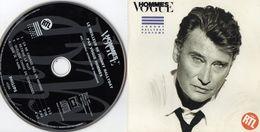 JOHNNY HALLIDAY   1992    EDIT.   VOGUE  HOMMES     CD 4 TITRES   LE MEILLEUR DE JOHNNY HALLYDAY - Collector's Editions