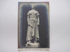 CPA PARIS Salon De 1908 Dignité, Par Ch. Perron T.B.E. - Esculturas