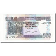 Burundi, 500 Francs, 2009-05-01, KM:45a, NEUF - Burundi