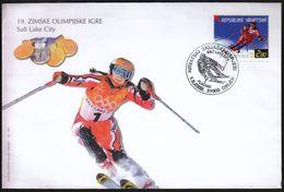 Croatia Osijek 2002 / Olympic Games Salt Lake City 2002 / Croatian Ski Success Janica Kostelic / Alpine Skiing - Winter 2002: Salt Lake City