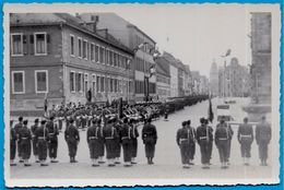 PHOTO Photographie - Forces Françaises D'Occupation Spire SPEYER Allemagne * Cérémonie Militaire MILITARIA - Guerre, Militaire