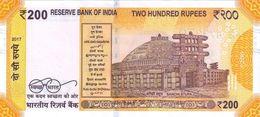INDIA P. 113 200 R 2017 UNC - India