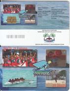 WALLIS & FUTUNA(chip) - Disciplines Mini-Jeux 2013(no Number), Tirage 5000, Used - Wallis Und Futuna