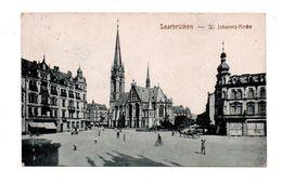 ALLEMAGNE . SAARBRÜCKEN . St. JOHANNIS-KIRCHE - Réf. N°6108 - - Saarbruecken