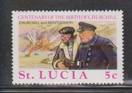 ST LUCIA Scott # 367 MH - Sir Winston Churchill - St.Lucia (1979-...)