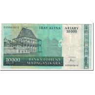 Madagascar, 10,000 Ariary, 2003, Undated (2003), KM:85, TB+ - Madagascar
