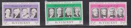 ST VINCENT Scott # 435-7 MH - US Presidents - St.Vincent (1979-...)