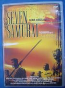 "Akira Kurosawa  "" Seven Samurai ""  ( Japanese DVD ) - Action, Adventure"