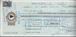 Letter From Bank Of Angola, In Salazar, With Additional Stamp Tax,1961.Letra Banco De Angola,em Salazar, IS Adicional. - Letras De Cambio