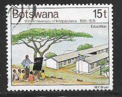 Botswana, Scott # 171 Used Independence Anniv., 1976 - Botswana (1966-...)