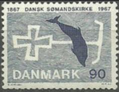 DINAMARCA 1967 Mi:DK 466, Yt:DK 477, AFA:DK 468 ** MNH - Nuevos