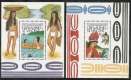 St Vincent-Gren,  Scott 2018 # 649-650,  Issued 1989,  2 S/S Of 1,  MNH,  Cat $ 10.00,  Paintings - St.Vincent & Grenadines