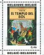 17/12 Belgique Belgie Tintin Kuifje  Temple Du Soleil En Espagnol El Templo Del Sol - American Indians
