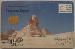 Telecom Egypt 15 LE Sphinx (Egypt) (Egypte) (Egitto) (Ägypten) (Egipto) (Egypten) - Egypte