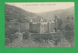 Cartes Postales VILLEFORT Chateau Du Champ Altier Boite Urbaine A Au Dos - Villefort