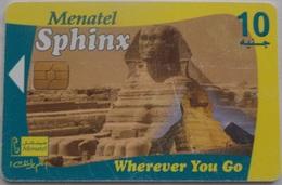 EGYPT - Menatel 10 L.E., Sphinx [USED] (Egypte) (Egitto) (Ägypten) (Egipto) (Egypten) - Egypte