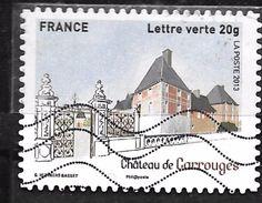 FRANCE Adhésif Oblit 871 Château De Carrouges - Autoadesivi