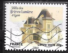 FRANCE Adhésif Oblit 865 Villa Des Frères Lumière à Lyon - Autoadesivi