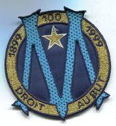 M80 1999 ANCIEN PATCH ECUSSON OLYMPIQUE DE MARSEILLE OM CENTENAIRE 80 MM - Habillement, Souvenirs & Autres