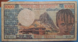 Cameron 1000 Fr Africa - Cameroun